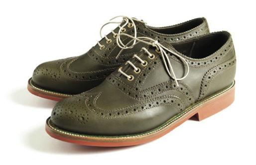 Совместная коллекция обуви марок Grenson и Barbour. Изображение № 1.