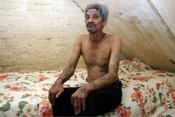 Южноафриканские тюремные банды и их татуировки. Изображение № 6.