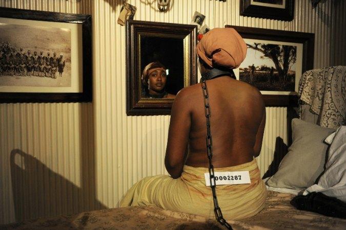 В Лондоне активисты сорвали выставку, посвящённую ужасам расизма. Изображение № 4.