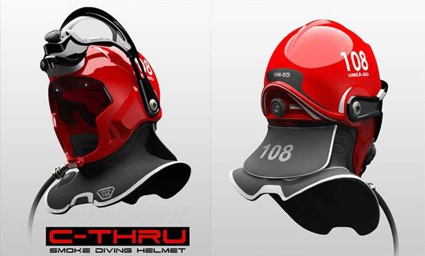 В Швеции создали шлем пожарного с функцией дополненной реальности. Изображение № 2.