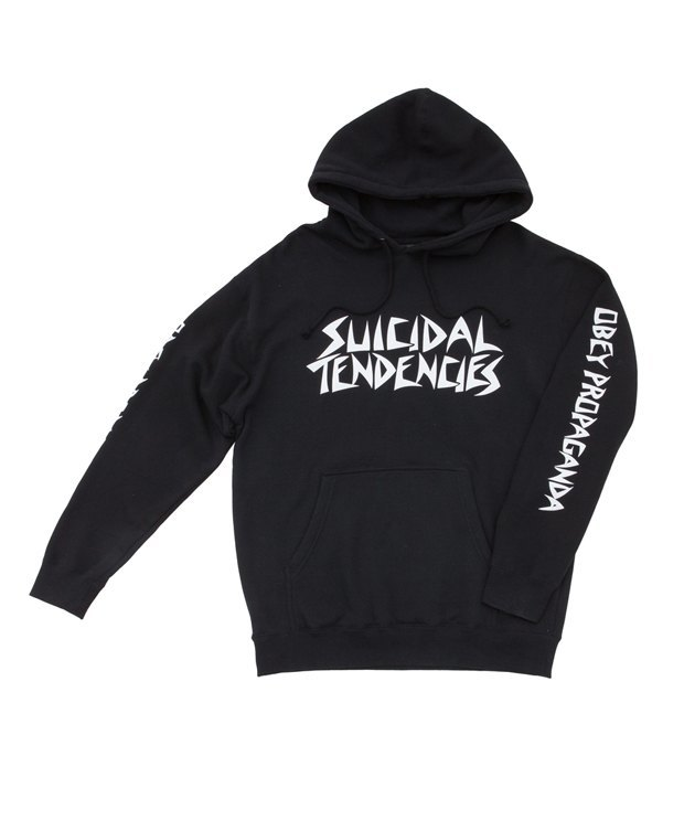 Марки Obey и группа Suicidal Tendencies выпустили совместную коллекцию одежды. Изображение № 12.