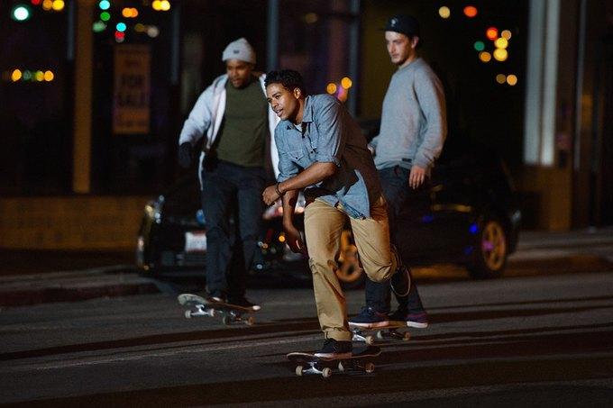 Марка Levi's опубликовала лукбук новой коллекции для скейтеров. Изображение № 1.