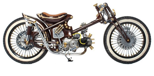 Мастерская Deus Ex Machina устроила голосование за свой лучший кастомный мотоцикл. Изображение № 2.