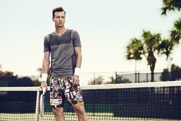 Марка H&M Sport опубликовала лукбук осенне-зимней коллекции . Изображение № 6.