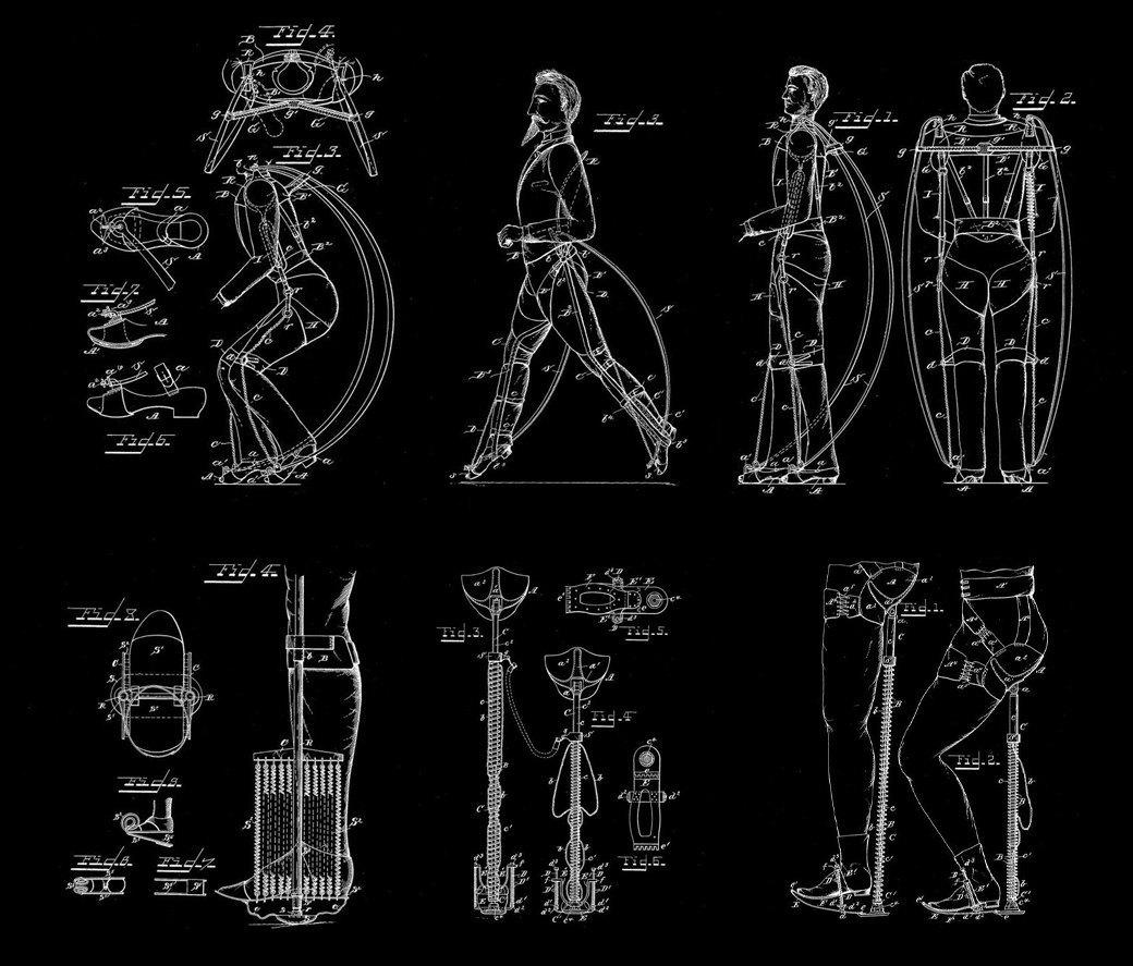 Что собой представляет экзоскелет — костюм «железного человека» будущего. Изображение № 2.