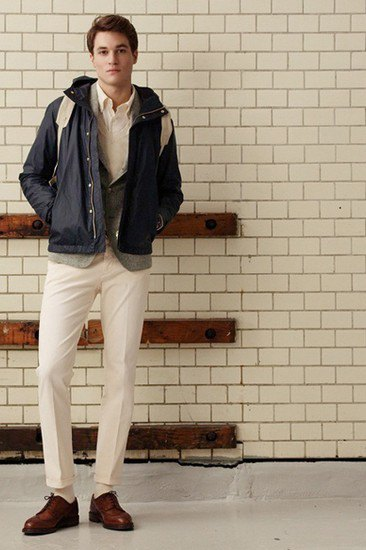 Марка Gant Rugger опубликовала лукбук осенней коллекции одежды. Изображение № 1.