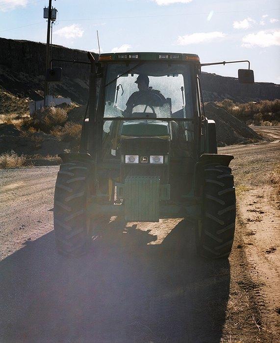 Бытовая жизнь работников бизоньего ранчо в США . Изображение № 16.