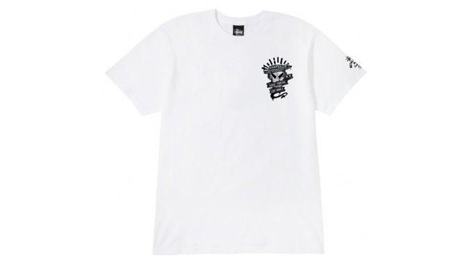 Марка Stussy поздравила лейбл Metalheadz с 20-летием выпуском футболок. Изображение № 7.