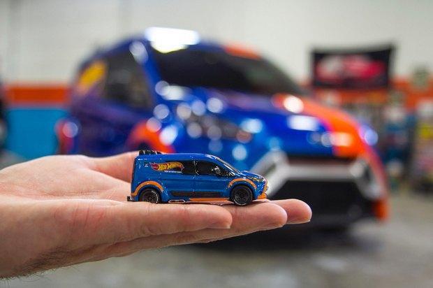Ford превратил игрушечную машинку в полноразмерный концепт. Изображение № 6.