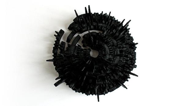 Дизайнеры отпечатали 3D-макеты альбомов Portishead, Ника Дрейка и Einsturzende Neubauten. Изображение № 12.