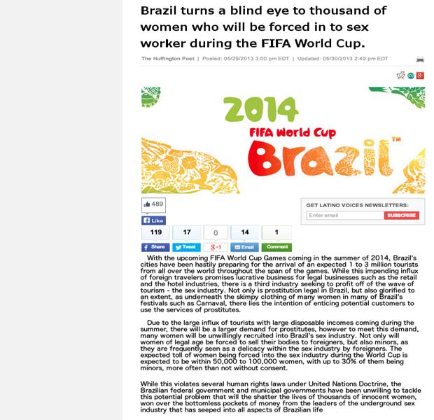 Как 4chan начал информационную войну против чемпионата мира по футболу. Изображение № 3.