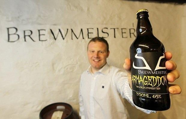 В Шотландии изготовили самое крепкое в мире 65-градусное пиво. Изображение № 2.