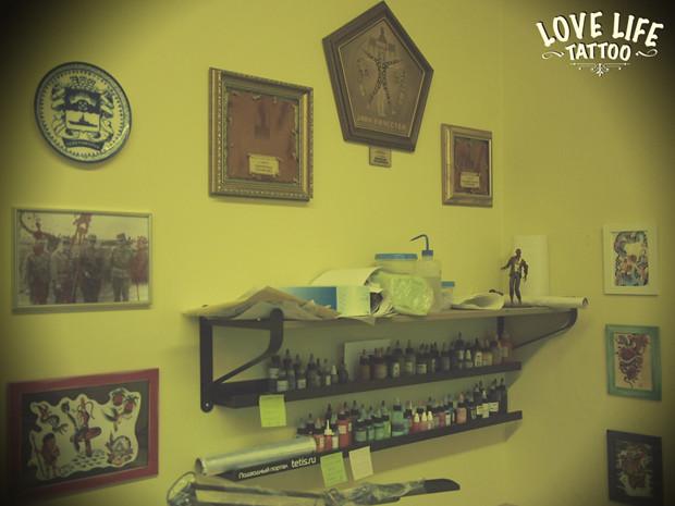 Репортаж из нового помещения Love Life Tattoo. Изображение № 19.