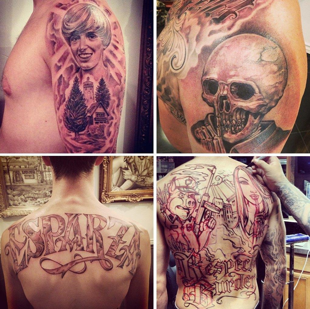 Что публикуют в своих Instagram известные татуировщики. Изображение № 3.