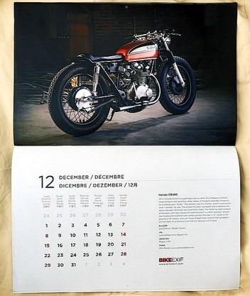 Сайт Bike EXIF выпустил календарь с кастомизированными мотоциклами. Изображение № 6.