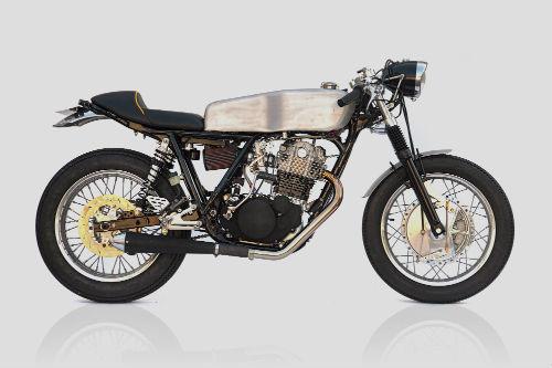 Мотоцикл Yamaha SR500 «The Venice» мастерской DEUS. Изображение № 2.