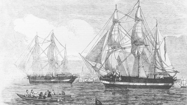В Арктике найден корабль легендарной экспедиции Франклина. Изображение № 1.