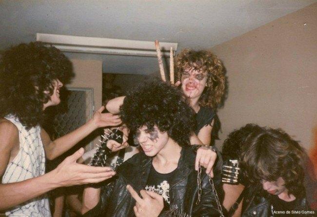 В сети появились архивные фотографии Sepultura. Изображение № 1.