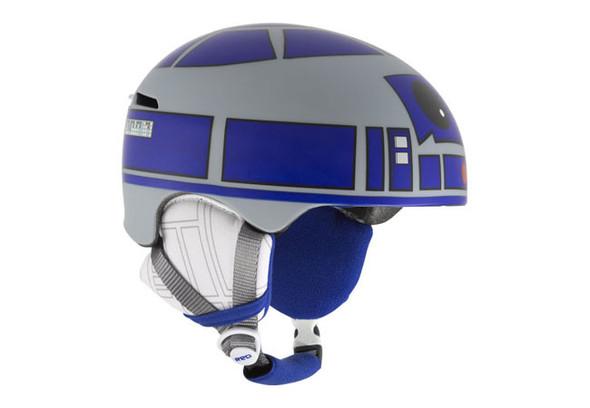 Шлем для сноуборда, вдохновленный дизайном робота R2D2. Изображение № 1.