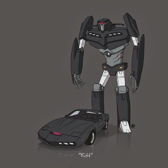 Даррен Роулингс: Если бы машины из культовых фильмов были трансформерами. Изображение № 9.