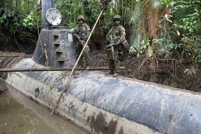 Полиция Колумбии захватила подлодку для транспортировки кокаина. Изображение № 2.