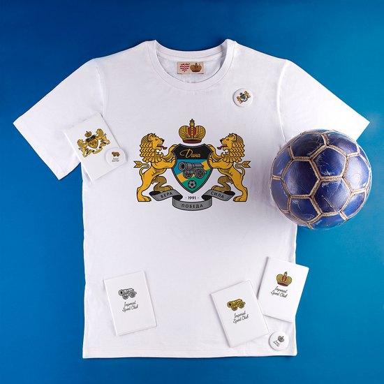 Марка Heart of Moscow выпустила коллекцию сувениров мини-футбольного клуба «Дина». Изображение № 1.