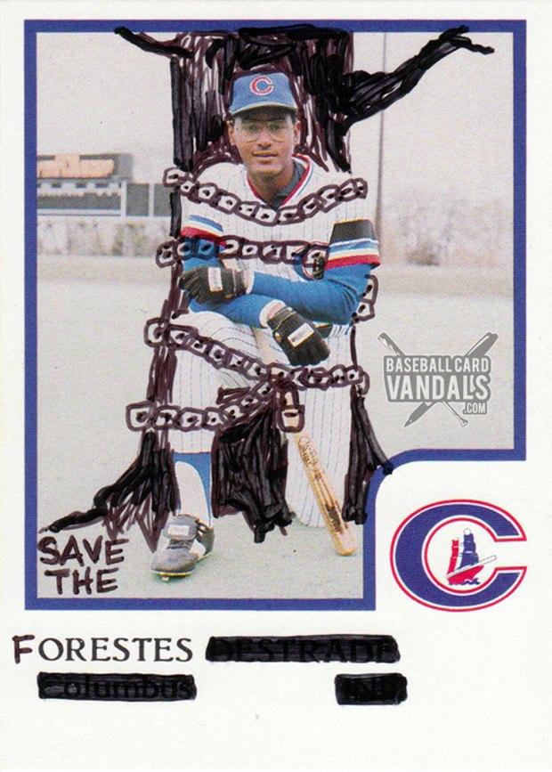 Baseball Card Vandals: Художники иронизируют над спортивными коллекционными карточками. Изображение № 9.