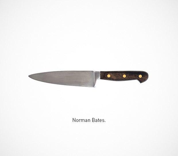 Итальянский дизайнер представил коллекцию ножей знаменитых персонажей. Изображение № 47.