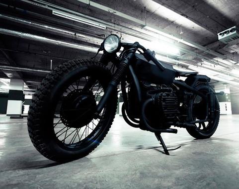 Китайская мастерская Bandit9 выпустила кастомизированный мотоцикл Nero. Изображение № 1.