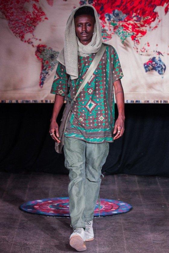 Британская марка Maharishi показала новую летнюю коллекцию. Изображение № 7.