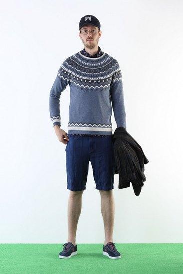 Японская марка White Mountaineering выпустила лукбук весенней коллекции одежды. Изображение № 6.