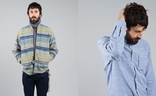 Шотландская марка Folk выпустила осеннюю коллекцию одежды. Изображение № 4.