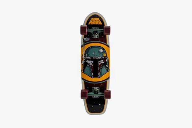 Марка Santa Cruz выпустила коллекцию скейтбордов с принтами Star Wars. Изображение № 4.