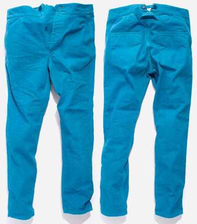 Nudie Jeans окрасили вещи из новой коллекции пигментом цветка вайды. Изображение № 16.