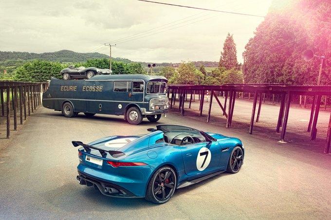Jaguar представили родстер Project 7. Изображение № 3.
