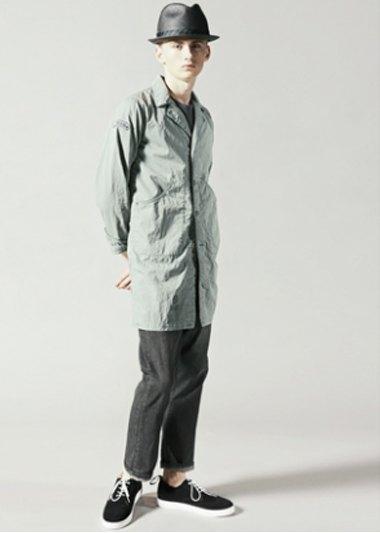 Марка Neighborhood опубликовала лукбук весенней коллекции одежды своей линейки Luker. Изображение № 10.