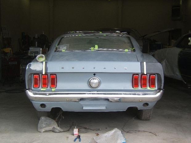 Американская мастерская изготовила гибрид маслкара Ford Mustang Mach 1 и спорткара GT40. Изображение № 17.
