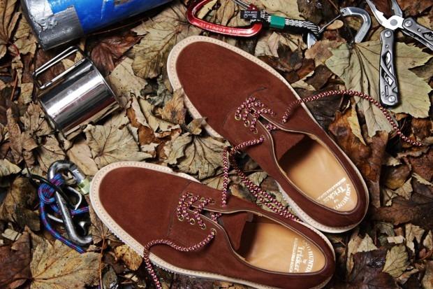 Марка Tricker's и магазин End Hunting Co выпустили совместную коллекцию обуви. Изображение № 2.