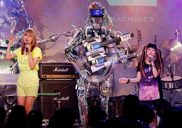 Японские роботы Z-Machines и британец Squarepusher выпустят совместный альбом на Warp Records. Изображение № 1.