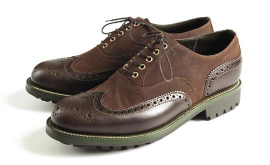 Совместная коллекция обуви марок Grenson и Barbour. Изображение № 5.