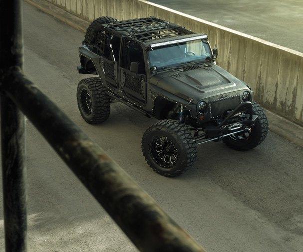 Автомастерская Starwood Motors представила новый кастом на базе Jeep Wrangler. Изображение № 5.