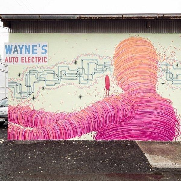 Гавайский фестиваль граффити Pow! Wow! в Instagram-фотографиях участников. Изображение № 4.