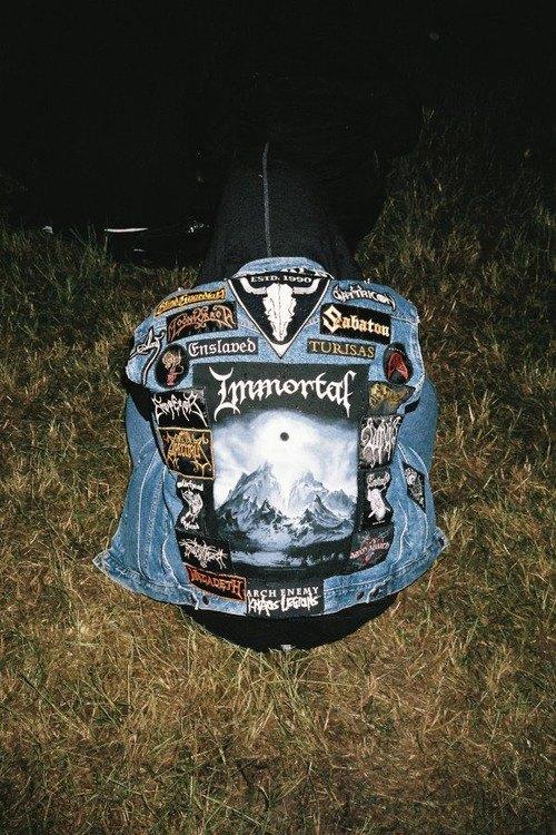 Battle Jackets: Tumblr-блог, посвящённый жилетам с нашивками. Изображение № 7.