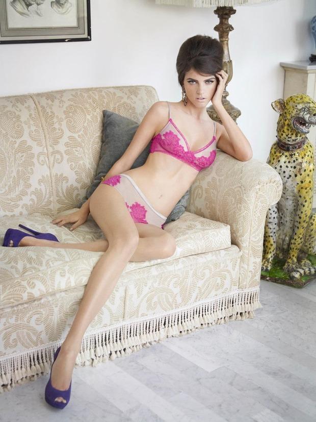 Модель Джейза Чиминаццо снялась в рекламе нижнего белья La Perla. Изображение № 4.