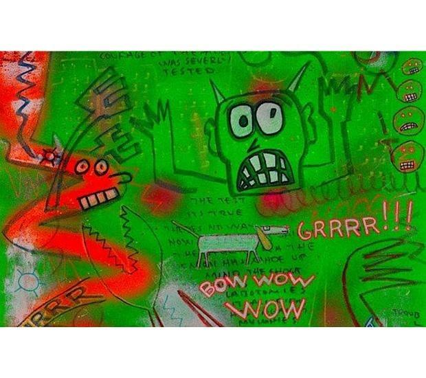Художник Шепард Фейри открыл выставку рисунков басиста Ramones. Изображение № 6.