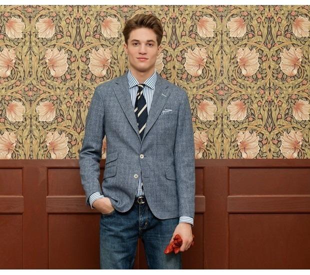 Марка Gant Rugger выпустила лукбук новой коллекции одежды своей линейки Holiday. Изображение № 9.