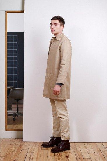 Марка A.P.C. выпустила лукбук осенней коллекции одежды. Изображение № 4.
