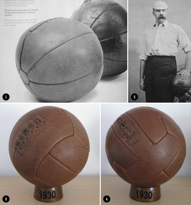 Находка недели: Винтажный футбольный мяч. Изображение № 2.