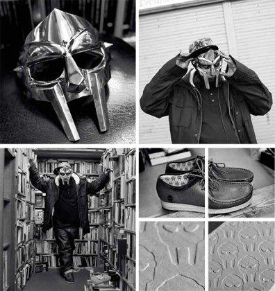 Рэпер MF Doom и марка Clarks выпустили совместную модель обуви. Изображение № 2.