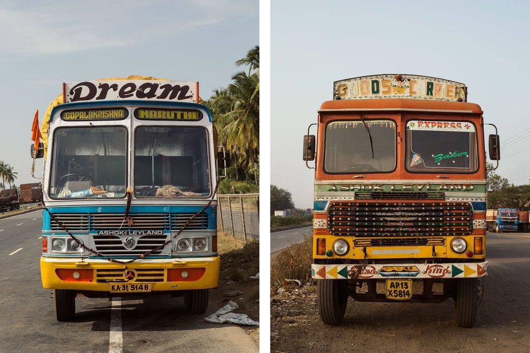 Я и друг мой грузовик: Индийские дальнобойщики и их автомобили. Изображение № 22.